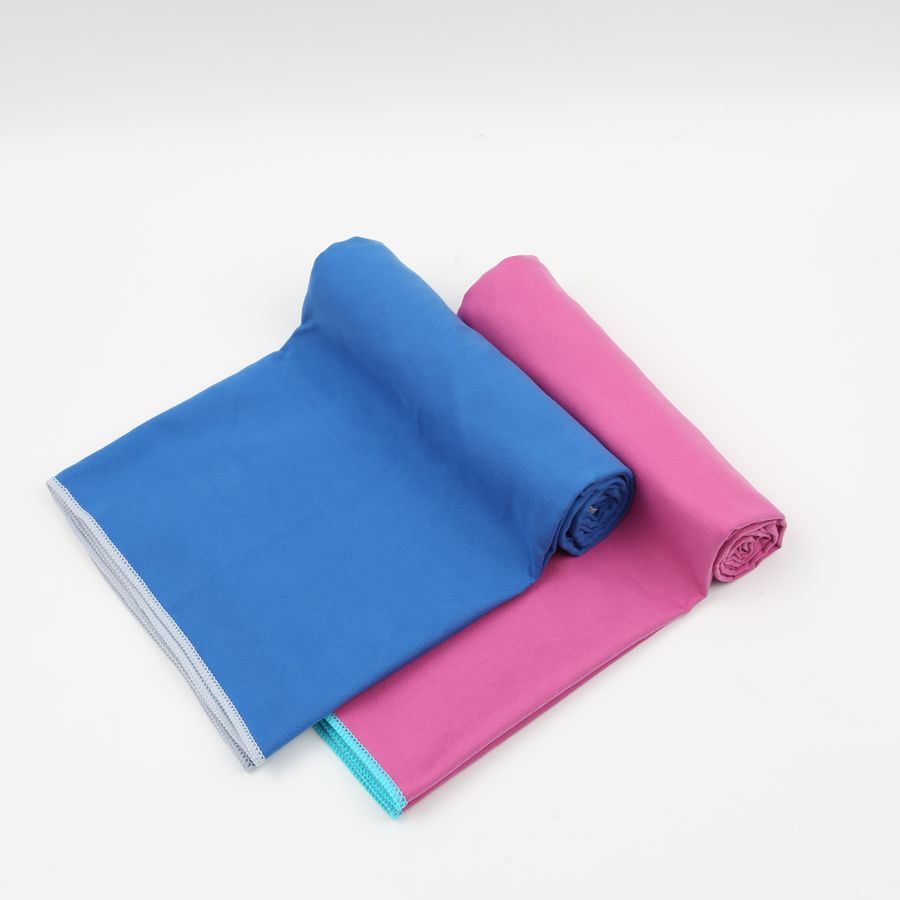 Cheap Wholesale Fabric Embroidered Anti Slip Yoga Sport Towel Fabric Textile Microfiber