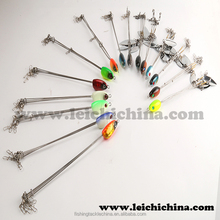 2015 newest type high quality durable connections stainless steel wire 5 arm umbrella alabama rig
