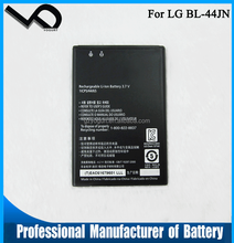 100% New BL-44JN BL 44JN Mobile Phone Li-ion Battery for LG P970 E730 P690 P693 E510 C660 p698 c660 ms840 L5 E610 E730 E400