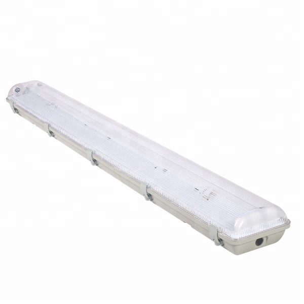 2x36w t8 tri-proof hanging tube suspended working waterproof fluorescent light fixtures ip65