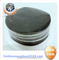 HOOP AND LOOP ROUND SAND PAPER DISC FOR WOOD POLISHING
