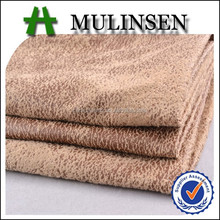 Mulinsen Textile Knitting Dyed 100% Polyester Ultra Suede Fabric For Dress