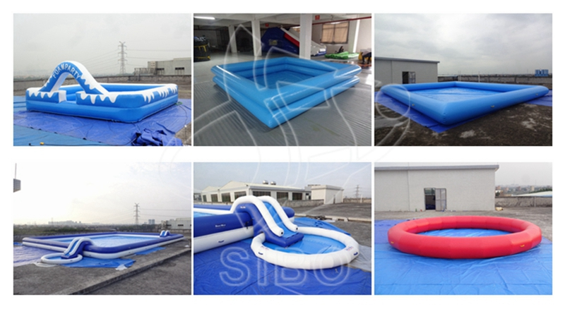 GMIF 7313 Factory price round shape inflatable water pool for sale