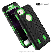 mobile case cover,for iphone 7 plus case,for iphone 7 accessories Tire grain shockproof phone case