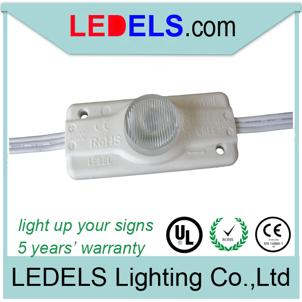 UL approved 5 year warranty 12v white led <strong>module</strong> for sign box