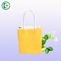 Gift paper bag with handle for shoppers to buy something called gift paper bag