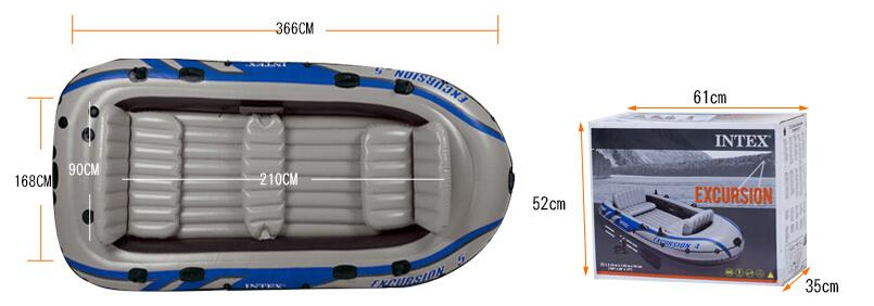 Intex excursion sport Series Inflatable Boat