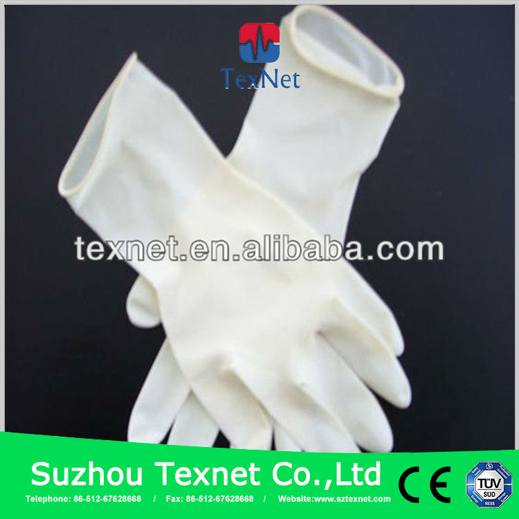 Health and Medical Factory manufactured surgical gloves latex