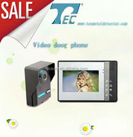 Home automation fashionable 4 wires video door phone with low price
