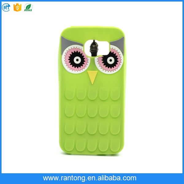 Factory direct sale good quality animal shape silicone phone case with good price