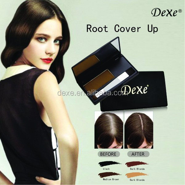Root Touch Up To Cover Gray White Hair Black Of Hair Makeup And
