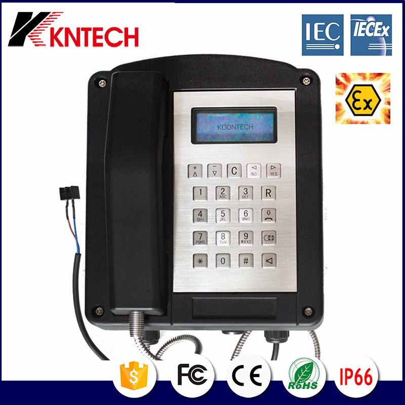 Explosionproof Telephone Resist tel Iecex Certify Knex1 Kntech 02