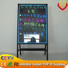Alibaba new products factory direct integrated stand LED writing board with reomote control for shops advertising