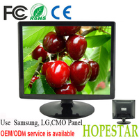 Square screen 19 Inch lcd tft monitor dc 12v adapter