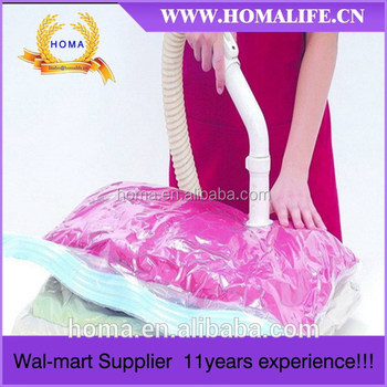 2014 new style resealable vacuum bags