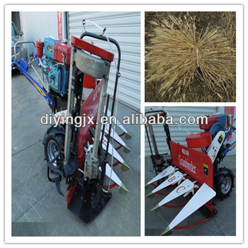 2014 best selling 4GK100 agricultural barley grain reaper binder/oats harvester/wheat grain harvester bundling machine