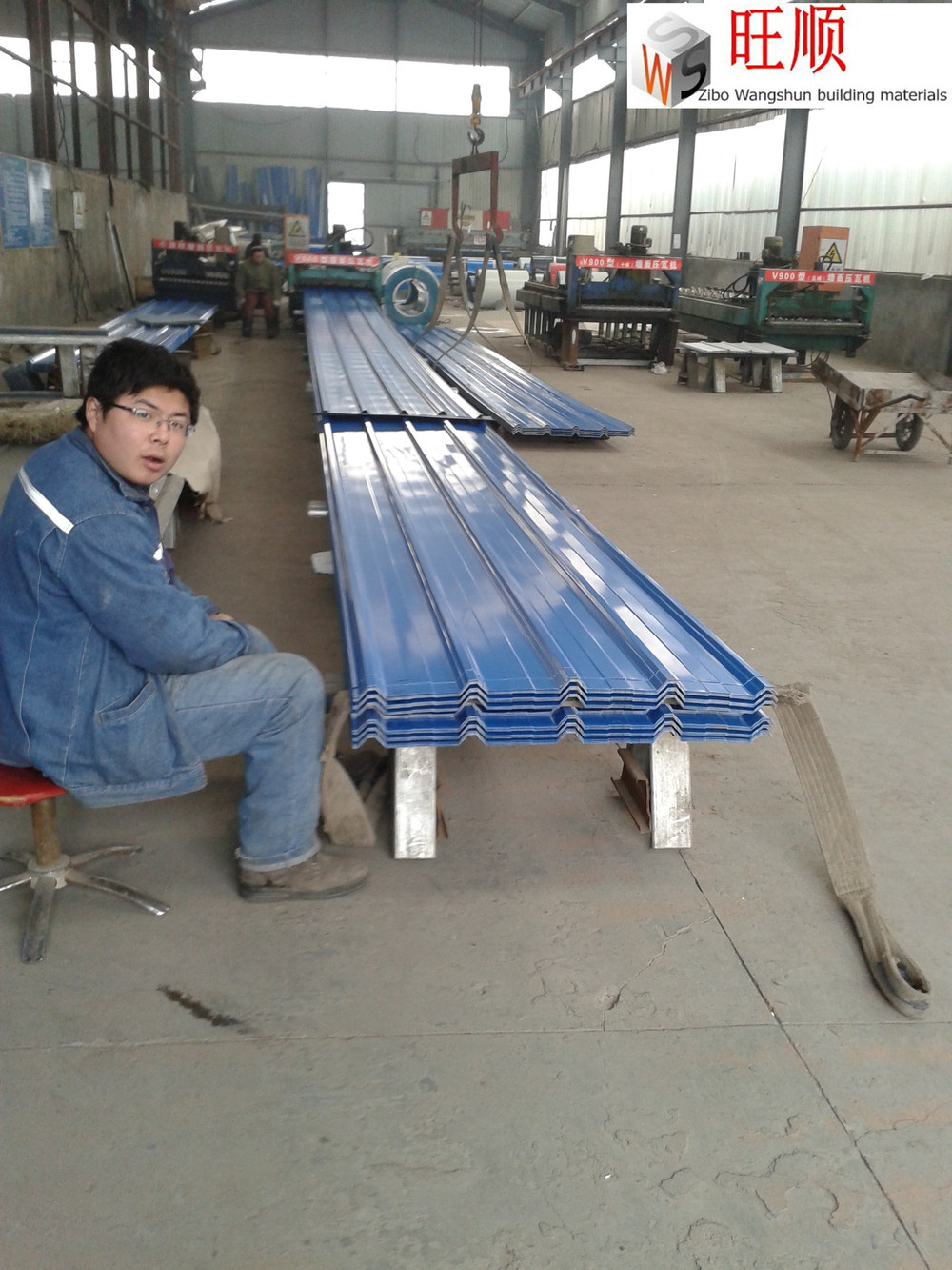 color coated expanded roof sizes metal roof sheet
