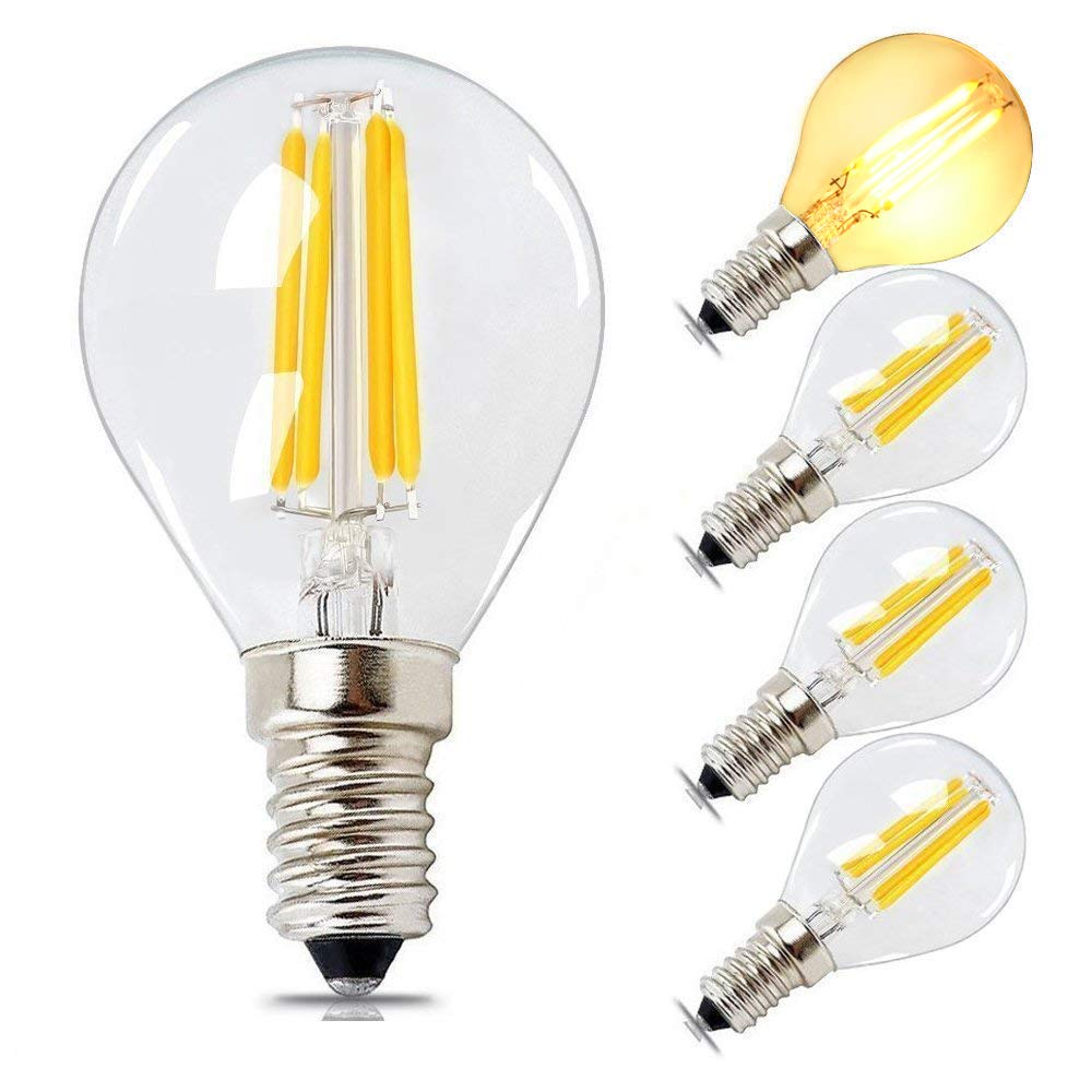 China Manufacturer vintage style G45 E14 led <strong>bulb</strong> 4w