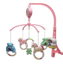 Five designs hot selling wind-up musical mobile with light for crib/baby toys bed bell/baby mobile85401-05Factory price