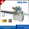 Horizontal Pillow Type Packing Machine for Wrapping Bread Biscuit Food