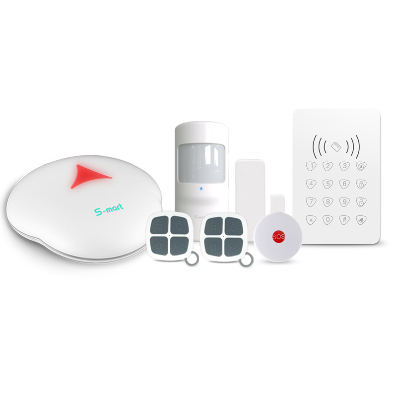 APP control DIY WiFi PSTN Wireless Smart Security Alarm System Anti Intrusion Alarm
