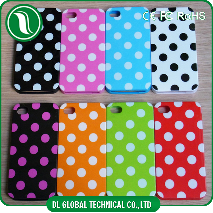 Colorful Dot phone case for iphone 5 Soft TPU Phone case cover for iPhone 5S DLPC111
