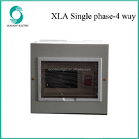 XLA Single phase 4 way power mdf distribution box distribution board
