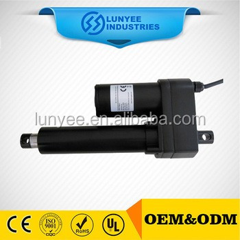 Push and pull 12v electric solenoid linear actuator