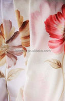 chian wholesale the printing sheer curtain polyester sheer curtain
