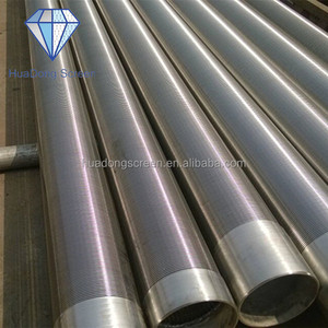 Huadong Stainless Steel Slotted Water Well Casing Pipe(SS316L,SS302)