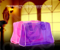 Professional Factory Supply China clear zipper pvc woman carry hand bag for shopping