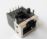 Network Use Telecome Modular Shielded RJ45 Butt Connector