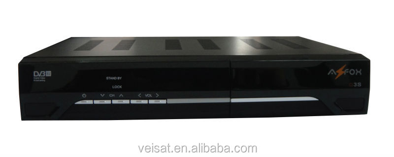 full hd starsat satellite receiver 1080p high quality azfox s3s support biss from factory