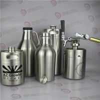 Micro brewery beer water bottle kettle with thermostat