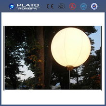led light or halogen light balloon, stand advertising balloon, inflatable decoration balloon