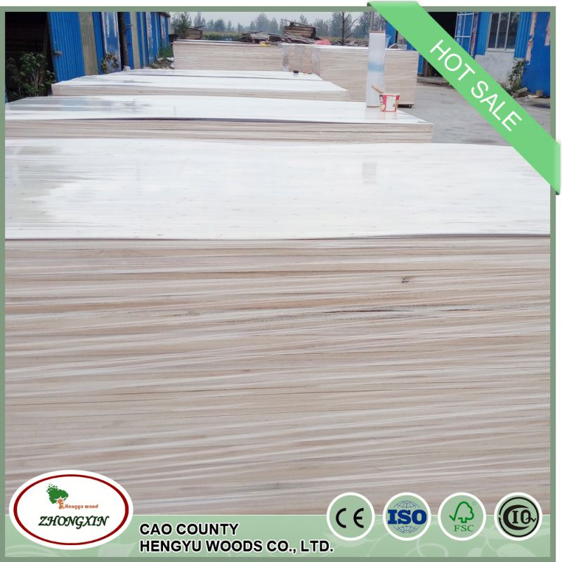 cheap price chinese paulownia lumber laminated rubber wood joint board