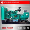 China suppliers 700kva electricity power diesel generators price