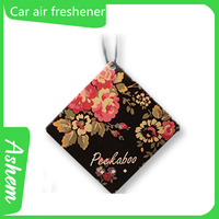 New arrival guangzhou promote items Strong smell paper air fresheners with customized design, DL798