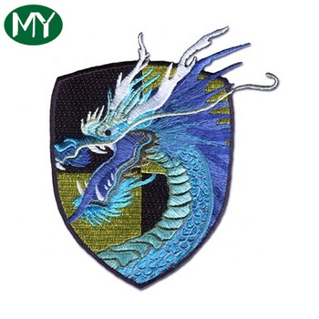Bulk wholesale Popular custom embroidery patch with logo stitched patches