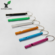 Outdoor Whistle Camping Hiking Security Emergency Whistle Survival Gear Aluminum Whistle