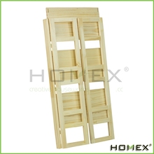Ladder Bookshelf 3 Shelf Learning Display Shelf/Homex_BSCI