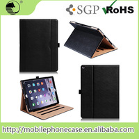 Book style Three Folding Flip PU Leather 12.9 Inch Case For Ipad Pro