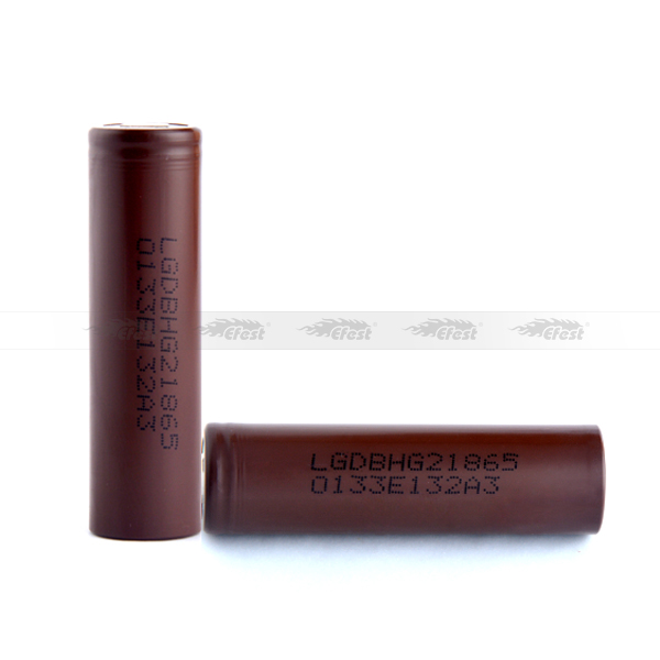 HG2 18650 battery 3.6V 3000mah rechargeable battery for toy car