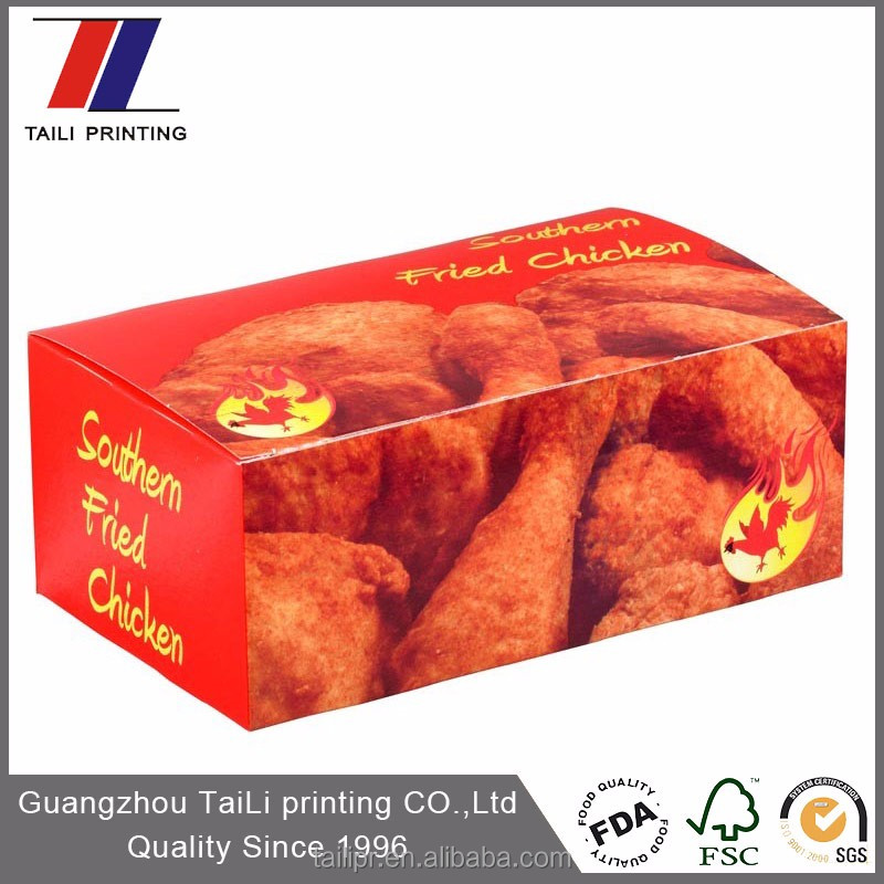 High quality packaging for chicken wings