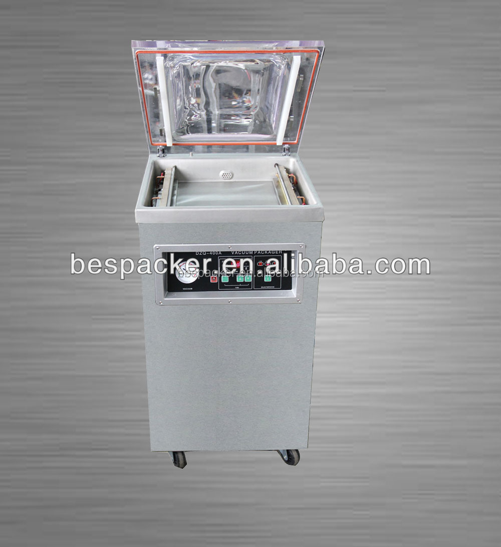 Hot sale single chamber food and commodity vacuum packager with gas inflation nozzles