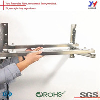 OEM ODM high quality precision floor standing bracket for air conditioner outdoor unit