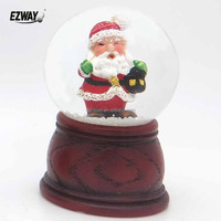 Beautiful Fashion Father Christmas Water Globe Natural Christmas Crafts