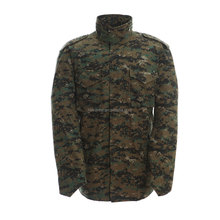 Digital woodland men's outdoor army jacket