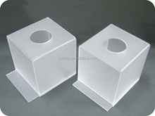 Roll Tissue Acrylic Bar Napkin Holder with Round Entrance