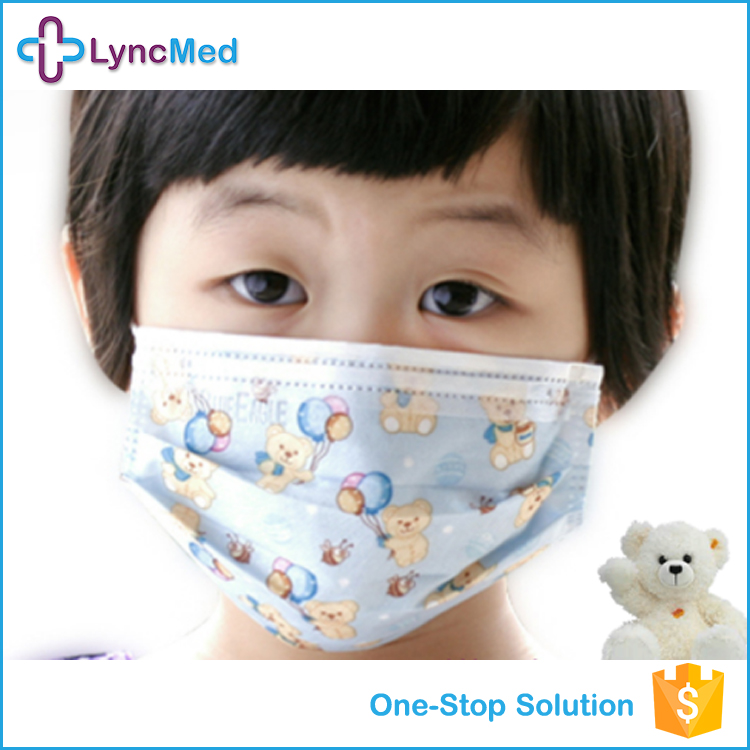 Disposable child cleanly funny face disposable mask fashion dust mask